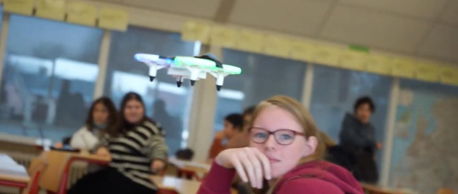 Drone Cup Finals les bij Cambreur College